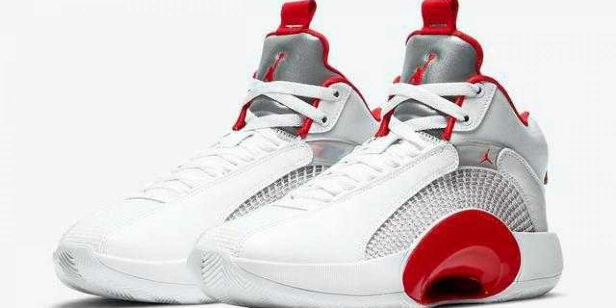"Air Jordan 35 ""Fire Red"" CQ4228-100 released on March 4"